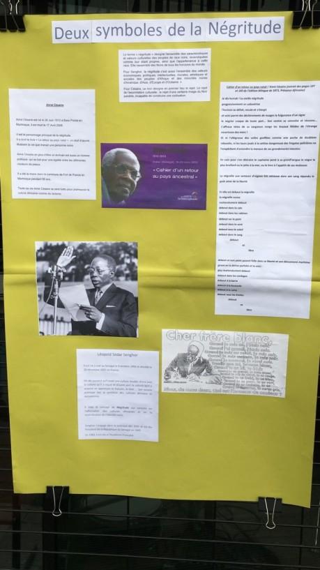 Deux symboles de la négritude : Léopold Sédar Senghor et Aimé Césaire