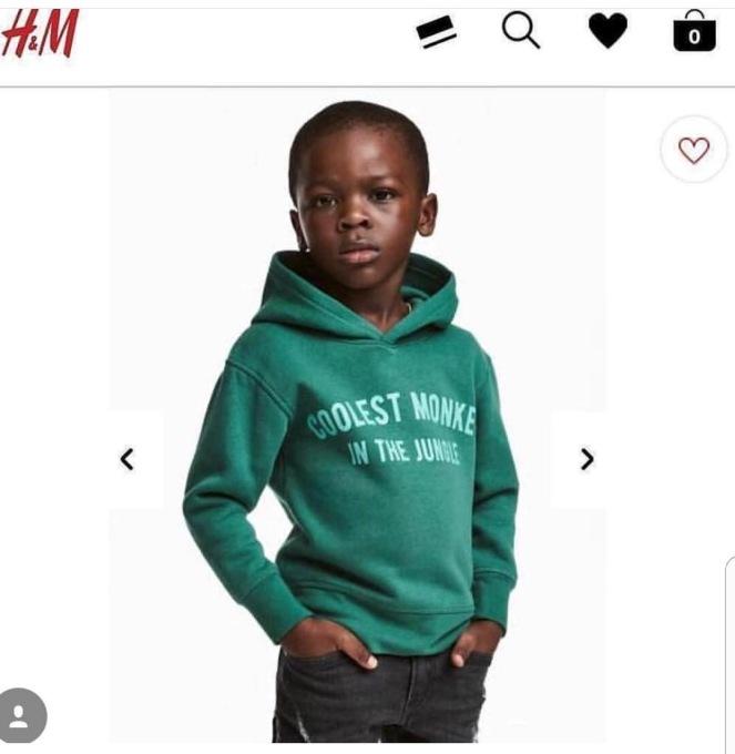 polémique H&M