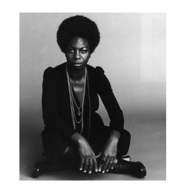 Nina Simone. Crédits : Jack Robinson pour Getty