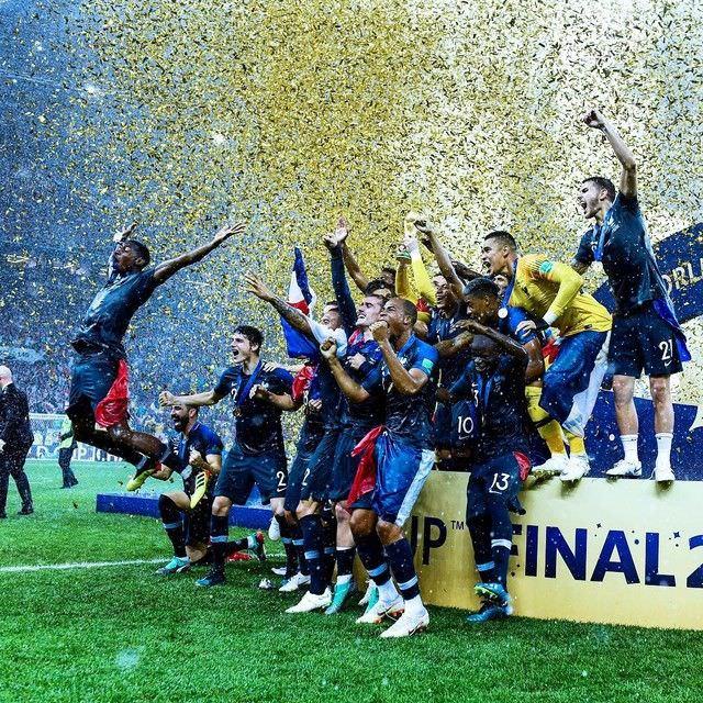Les Bleus champions