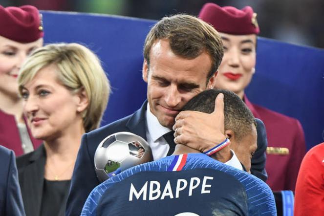 Mbappe et Macron