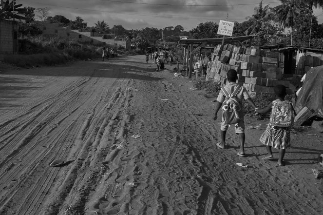 Abidjan, les enfants